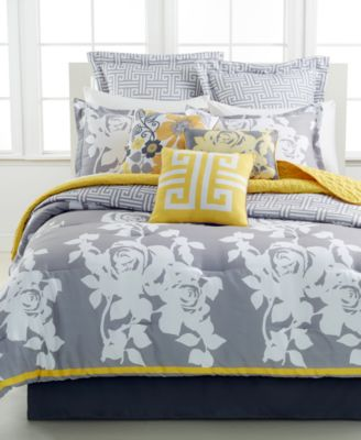 CLOSEOUT! South Beach Rose 10 Piece Queen Comforter Set