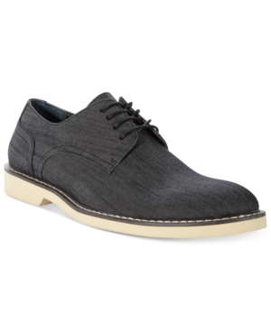 Bar Iii Ryker Canvas Oxfords Men's Shoes $ 89.99