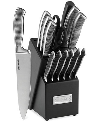 Cuisinart Graphix Classic Stainless Steel 15-Piece Cutlery Set