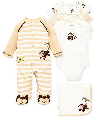 54cc59079 Little Me Baby Boys  Monkey Gift Bundle - Kids Newborn Shop