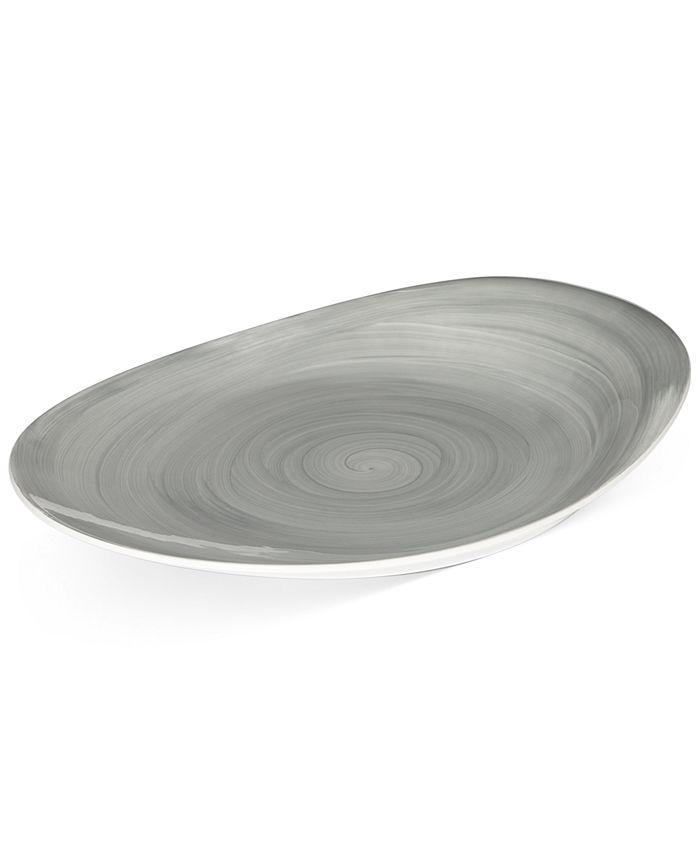 Mikasa - Savona Grey Oval Platter