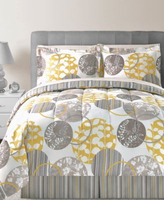 CLOSEOUT! Holden 8 Piece Full Reversible Bedding Ensemble