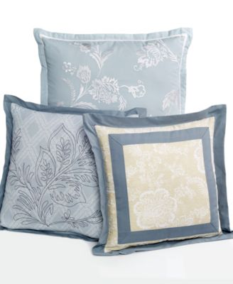 Martha Stewart Collection Villa Fields 3 Piece Decorative Pillow Set