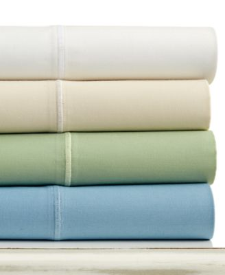 CLOSEOUT! Martha Stewart Collection 325 Thread Count Custom Fit Queen Sheet Set