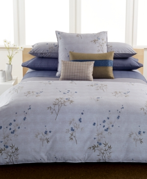 Calvin Klein Bamboo Flowers Full Flat Sheet Bedding