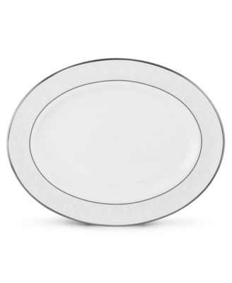 Lenox Dinnerware, Opal Innocence Small Oval Platter
