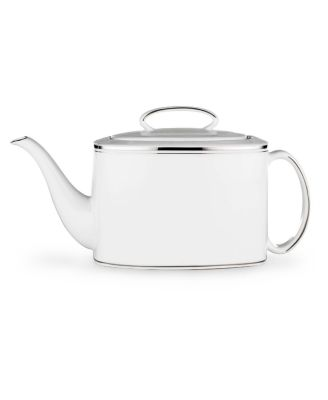 kate spade new york Library Lane Platinum Teapot