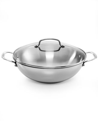 "Cuisinart Chef's Classic Stainless 12"" Covered All Purpose Pan"