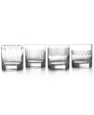 "CLOSEOUT! Mikasa ""Cheers Too"" Double Old Fashion, Set of 4"