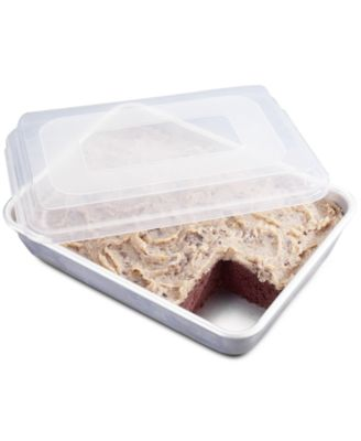 """Nordicware 9"""" x 13"""" Cake Pan with Lid"""