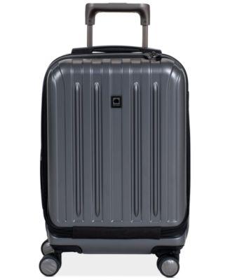 "Delsey Helium Titanium 19"" International Carry On Expandable Hardside Spinner Suitcase"