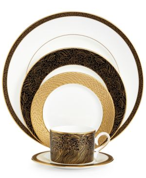 Marchesa by Lenox Dinnerware, Mandarin 5 Piece Place Setting