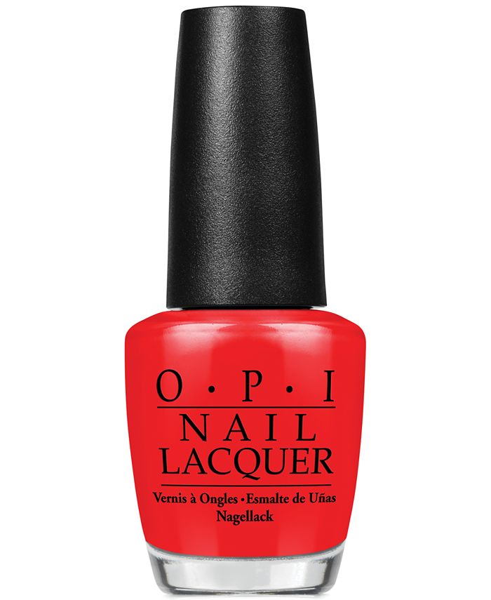 OPI - Nail Lacquer, Big Apple Red