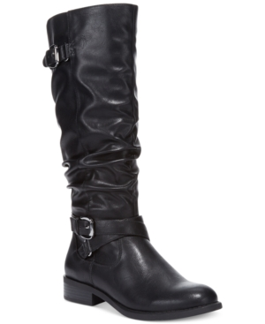 White Mountain Latara Tall Riding Boots - A Macys Exclusive Womens Shoes