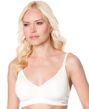 A Pea In The Pod Seamless Full-Coverage Clip-Down Nursing Bra plus size,  plus size fashion plus size appare