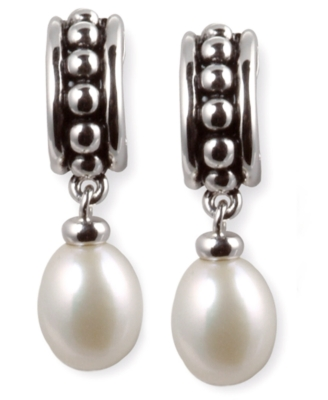 Dangling Pearl Earrings - Honora
