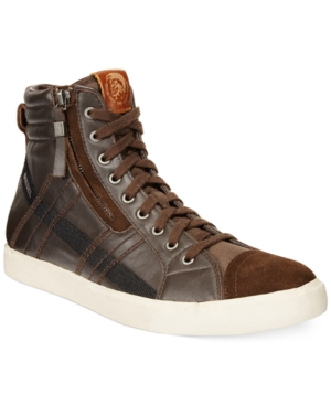 Diesel D-Velows D-String Hi-Top Sneakers Men's Shoes