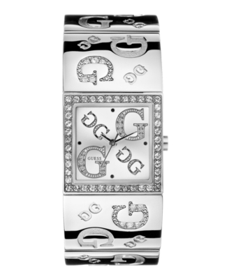 GUESS Watch, Women's Stainless Steel Bracelet G86073L