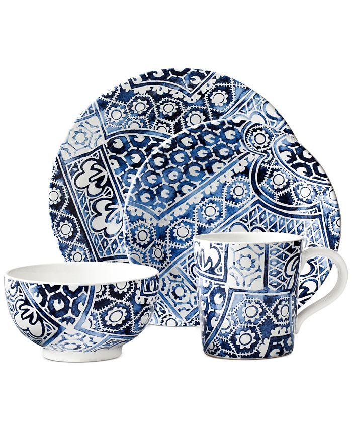 Ralph Lauren - Cote D'Azur Batik 4 Piece Place Setting