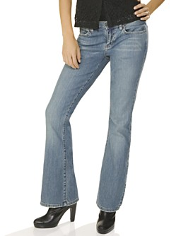 Macy*s - Women's - Calvin Klein Jeans Stretch Flared Jean, Tint Wash :  flared wash womens women