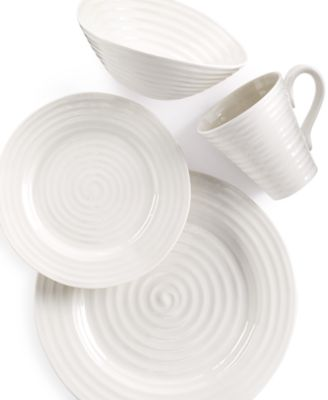 Portmeirion Dinnerware, Sophie Conran White 4 Piece Place Setting