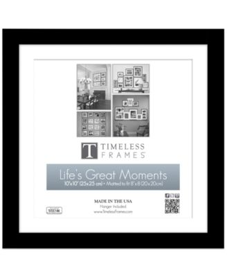 "Timeless Frames Picture Frame, Life's Great Moments Wall Frame 10"" x 10"""