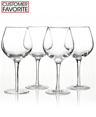 Lenox Stemware, Tuscany Classics Red Wine Glasses, Set of 4