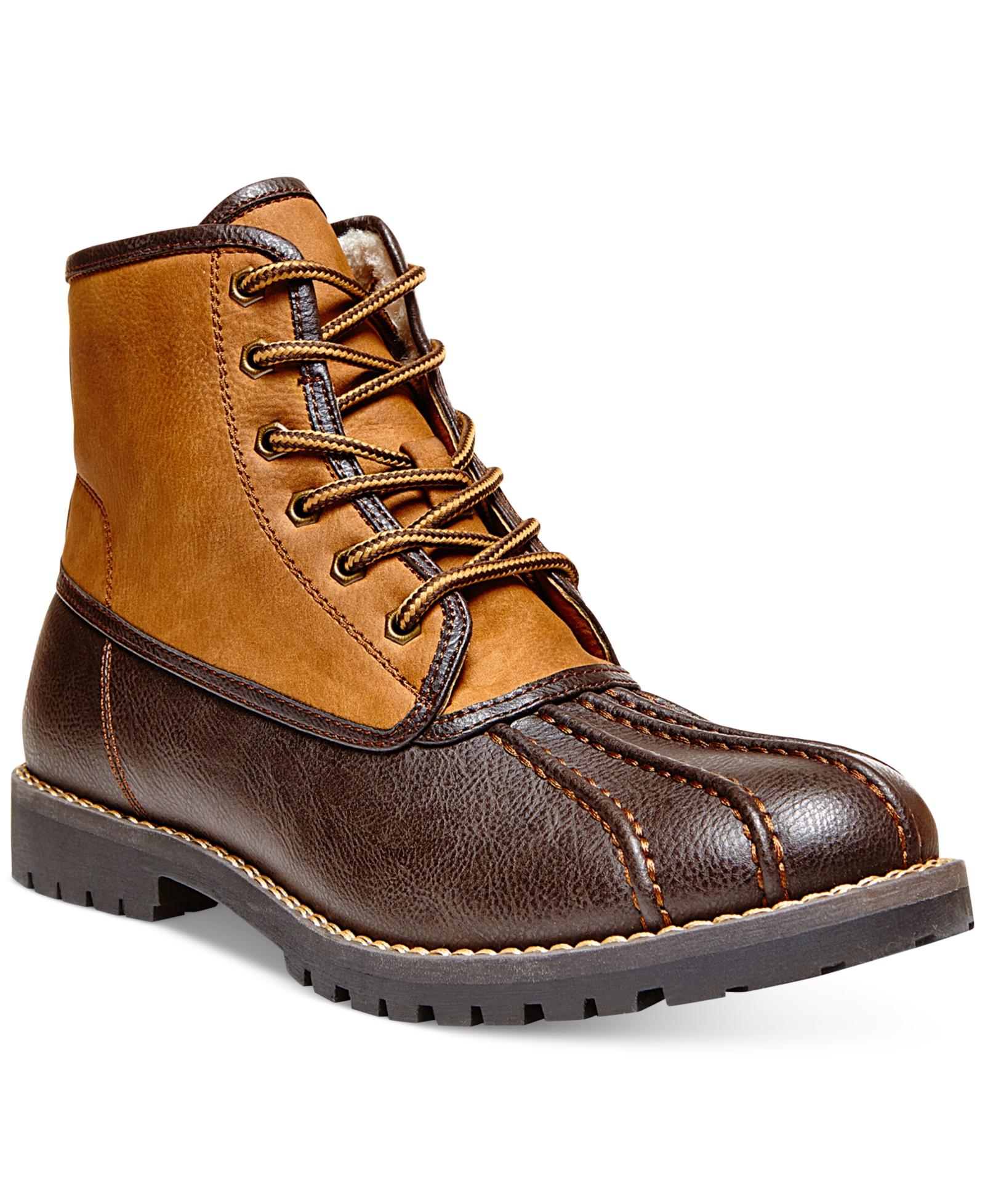 6cc44a17302 Madden Crtlnd Duck Boots Men's Shoes | Steve Madden | Shoe.Net