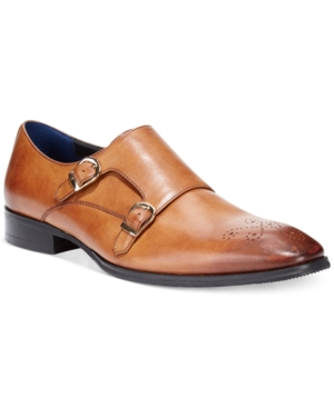 Bar Iii Men's Carrick Monk Strap with Medallion, Only at Macy's Men's Shoes