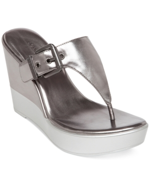 BCBGeneration Quiet Platform Wedge Sandals Women's Shoes
