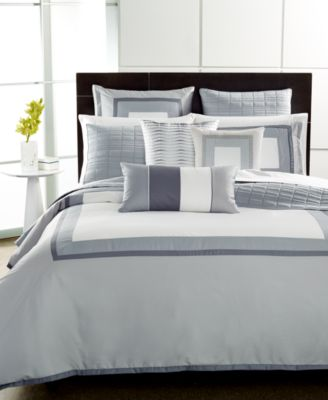 Hotel Collection Modern Frame King Comforter