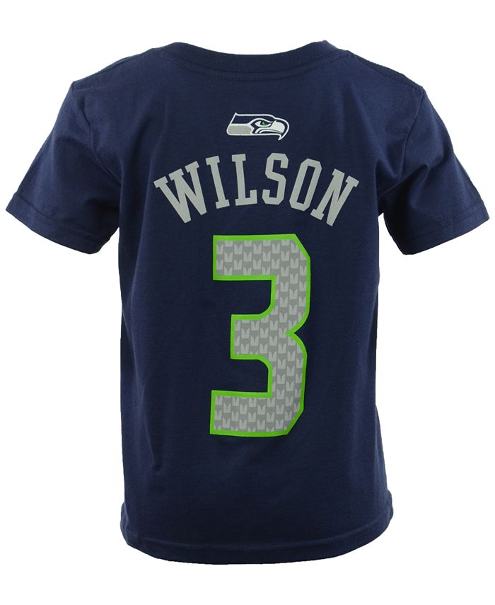 Outerstuff - Toddler Boys' Russell Wilson Seattle Seahawks Mainliner Player T-Shirt