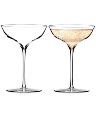 Waterford Champagne Belle Coupe Pair