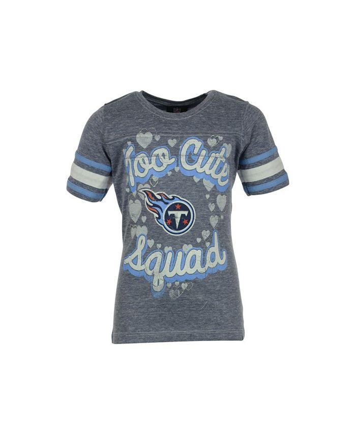 5th & Ocean - Girls' Tennessee Titans Too Cute Graphic T-Shirt