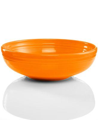 Fiesta Tangerine Large Bistro Bowl