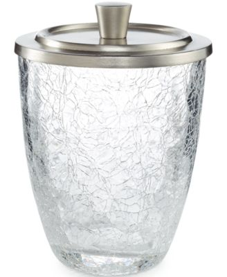 Paradigm Bath Accessories Heirloom Crackle Canister
