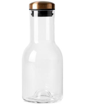 Menu Water Bottle with Copper Lid, 17 oz