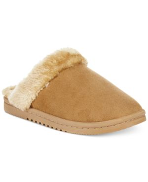 Sporto Women's Memory Foam Faux-Fur Slippers Women's Shoes