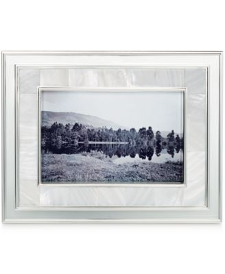 "Martha Stewart Collection Mother of Pearl 4"" x 6"" Frame"