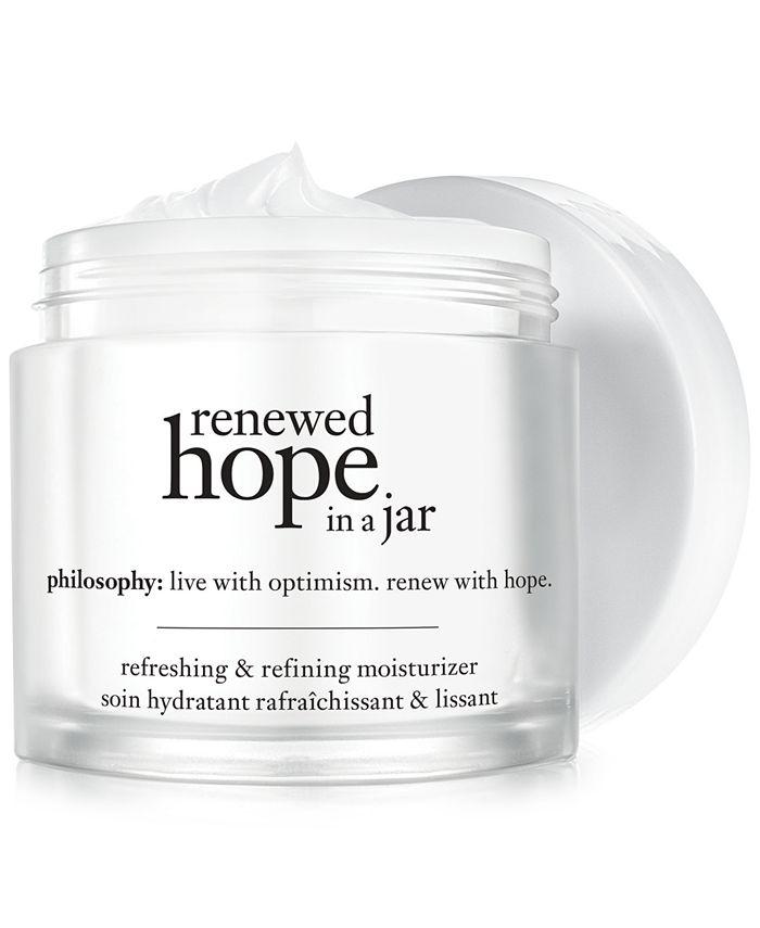 philosophy - renewed hope in a jar