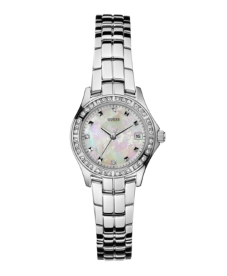 GUESS Watch, Women's WaterPro Stainless Steel Bracelet G96037L