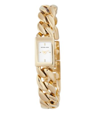 MICHAEL Michael Kors Women's Goldtone Stainless Steel Bracelet Watch