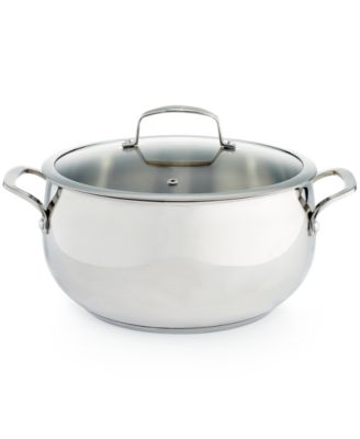 Belgique Stainless Steel 7.5-Qt. Dutch Oven, Only at Macy's