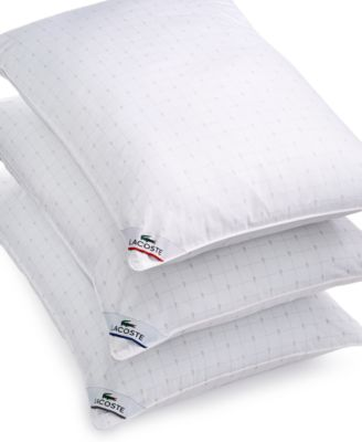 Lacoste Home Medium Support Down Alternative King Pillow