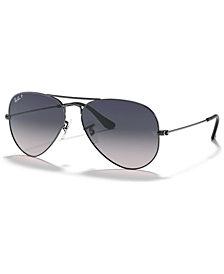 Ray-Ban Polarized Sunglasses , RB3025 AVIATOR GRADIENT