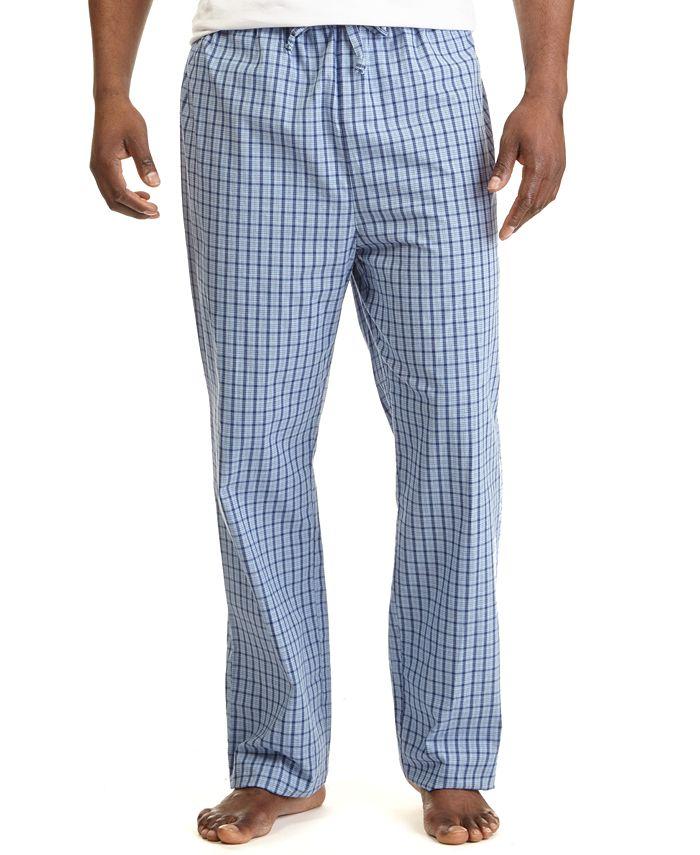 Nautica - Men's Woven Plaid Pajama Pants