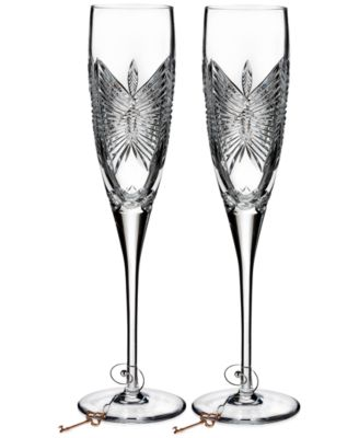 Waterford Love Happiness Flute Pair