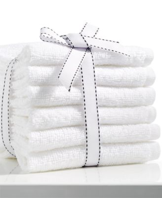 Baltic White Washcloth 6 Pack, Only at Macy's