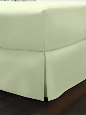 CLOSEOUT! Charter Club Damask 500 Thread Count Pima Cotton Solid Queen Bedskirt, Only at Macy's