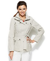 Tommy Hilfiger Belted Utility Womens Jacket